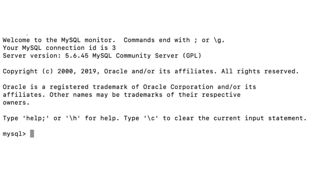 MySQLパスワード