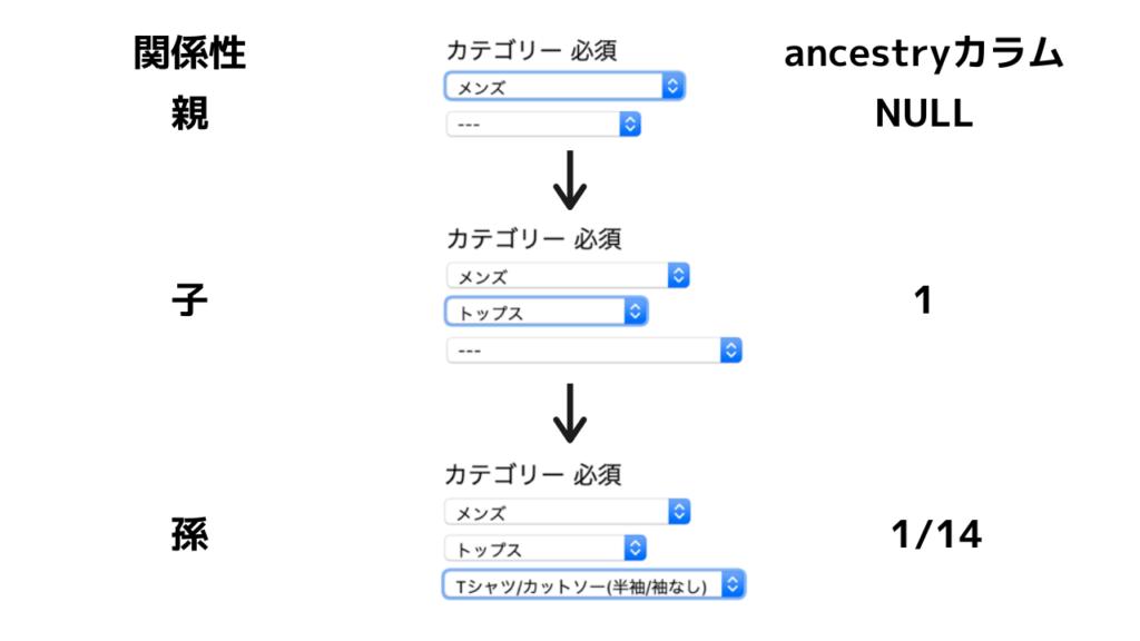 ancestry簡略図