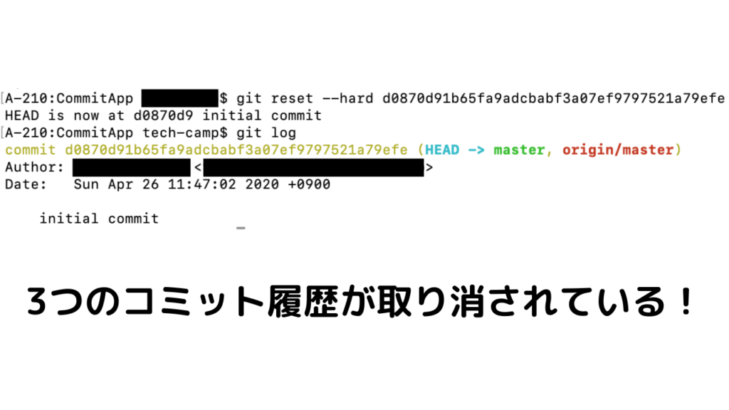 git reset --hard commitID
