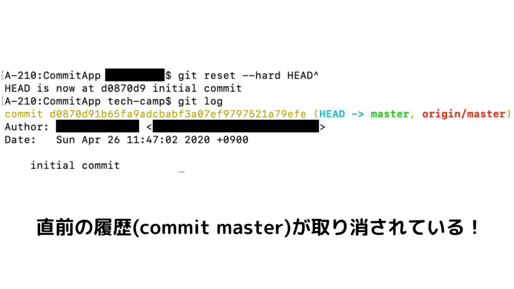 git reset --hard HEAD^